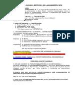 PREGUNTAS DE LA CONSTITUCION