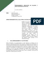 12.- MODELO DE APERSONAMIENTO, DEDUCCIÓN DE NULIDAD Y CONSTITUCIÓN EN ACTOR CIVIL
