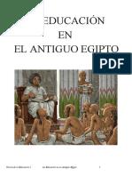 La educacion egipcia - (Ensayo)