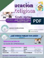 RELIGIÓN 7-GUÍA #5 -3P