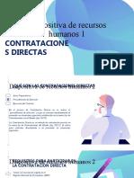 La Contratación Directa