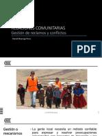 08 GESTIÓN DE RECLAMOS Y CONFLICTOS