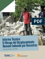 Book AI. IDMC. El Desplazamiento.Humano Inducido por Desastres