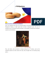 History of Baking in the Philippines
