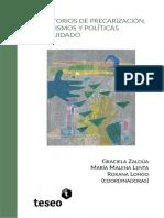 Territorios De Precarización Feminismos Y Politicas Del Cuidado - Varias Autoras