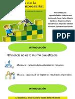 Presentación LOS SECRETOS DE LA EFICIENCIA EMPRESARIAL
