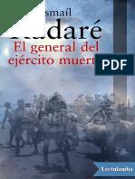 El general del ejercito muerto - Ismail Kadare