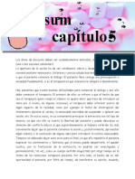 RESUMEN CAP 5  PROCESO TERAPEUTICO