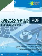 Buku Monev Pelayanan Telemedicine