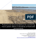 Protocol and recommendations for monitoring macroplastic debris (1)