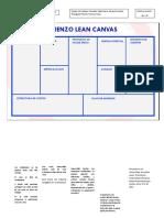 Lienzo Lean Canvas