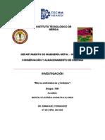 INVESTIGACIÓN MICROCONTROLADORES Y TARJETA ARDUINO - JHONATAN MONTALVO