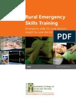 Australian College of Rural and Remote Medicine - Rural Emergency Skills Training (REST) (2012, Australian College of Rural and Remote Medicine)