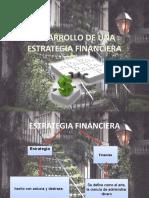 desarrollo de una estrategia financiera  10-11-12