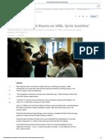 Turkey_ Talks with Russia on Idlib, Syria 'positive'