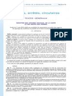 Arrêté du 1er juin 2015 transmission préfet rapports liste A