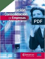 Creación y Consolidación de Empresas. Politicas de Apoyo