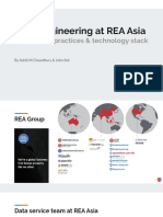 Data Engineering at REA Asia, Challenges & Technology Stack