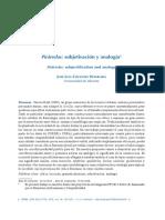 Cifuentes Honruria, J. L. (2019). Pirárselas subjetivación y analogía
