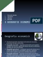 3 Geografie economică
