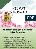 KHIDMAT SOKONGAN