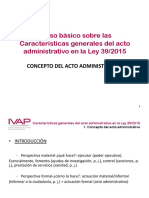 01 Power point Concepto de acto administrativo. IVAP