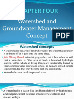 Chapter 4- Groundwater Management Concept