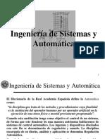 Ingenieria de sistemas y automatica