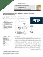 Intelligent demand side energy management system for autonomous