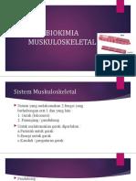 BIOKIMIA MUSKULOSKELETAL