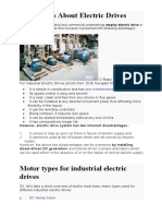 Different type of Motors for Industrial Drives.docx
