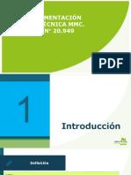 1. Implementación nueva guía técnica MMC-MMP  2018