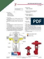 6. KIMRAY SMT 1400 (CONTROL VALVE)