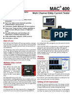 Multi Channel Eddy Current Tester