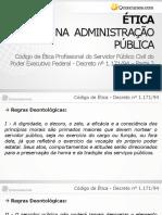 Código de Ética Profissional do Servidor Público Civil do l - Decreto nº 1.171 de 1994 - Parte 2