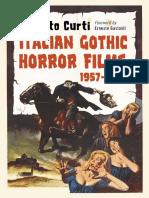 Italian Gothic Horror Films (1957-1969)