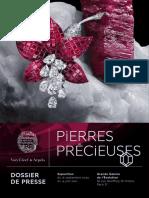Exposition Pierres Précieuses, Paris