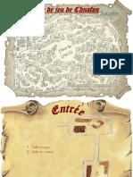 Scénario - Plan de la Crypte - Finaltidius
