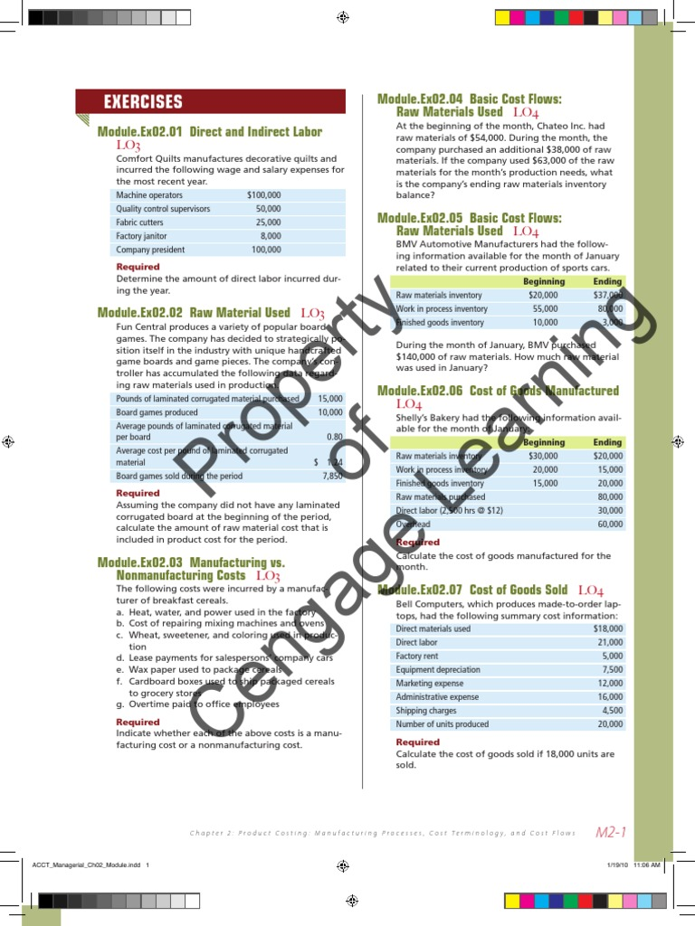 ACCT_Managerial_Enrichment_Module_Complete (2) | Cost Of