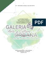 Propuestanformalndelnproyecto arte cultura urbana