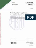 ABNT NBR 16655-3 - Climatização residencial