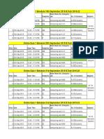 11295_Online Quiz Schedule