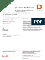 Baud 2017. Réappropriations mutuelles. Ayahuasca et néochamanisme péruvien internationalisé