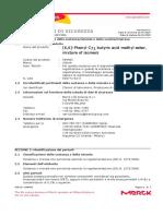 _msds_[6,6]-Phenyl C71 butyric acid methyl ester, mixture of isomers_ITA