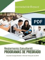 REGLAMENTO ESTUDIANTIL 2019 PREGRADO
