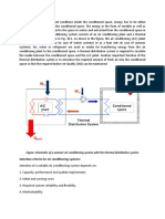 Introduction of HVAC