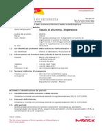 _msds_Aluminum oxide nanoparticles_ITA