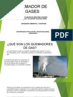 Exposición- QUEMADOR DE GASES