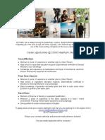 Job Advert - 14.09.2020