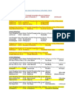 Laois Shopping Centre GAA Championship Fixtures